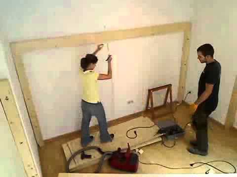 hochbett bauen 1 youtube. Black Bedroom Furniture Sets. Home Design Ideas