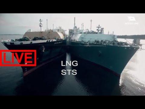 Liquefied Natural Gas (−260 °F) Ship to Ship Transfer #JS