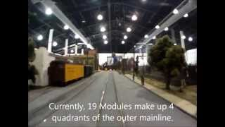HO Scale Trolley Cab Ride on the SCTC