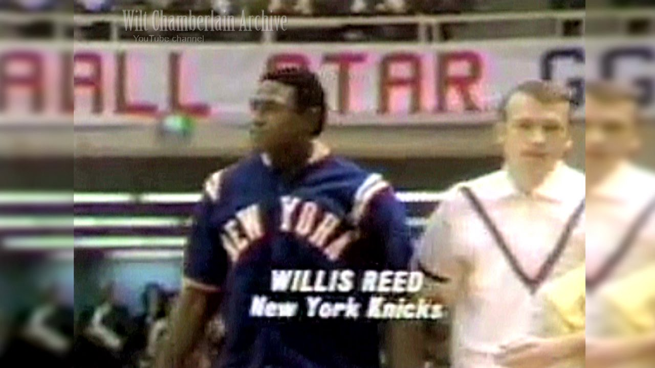Willis Reed 10pts 4reb 1969 NBA ASG Full Highlights