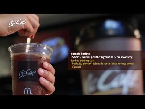 McCafe Barista Service Video