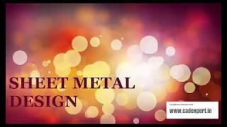 CATIA TUTORIAL SHEET METAL DESIGN