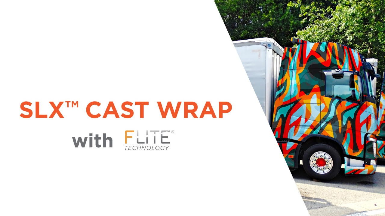 {SLX™ Cast Wrap + FLITE Technology®}
