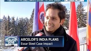WEF Davos: Aditya Mittal