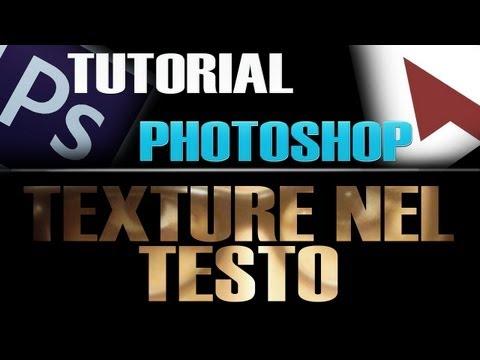 [ITA]Tutorial Photoshop - Texture Nel Testo