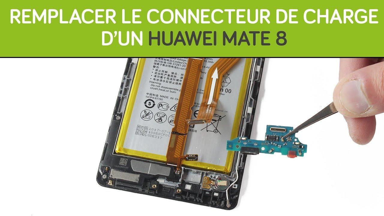 remplacer le connecteur de charge du huawei mate 8 by sosav