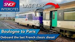 One last trip ... | BB 67400/Corail |  Boulogne Ville 🇫🇷 - Paris Nord 🇫🇷