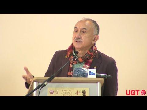 """Pepe Álvarez en la 4ª edición del Premio Antonia Céspedes """"La Latera"""""""