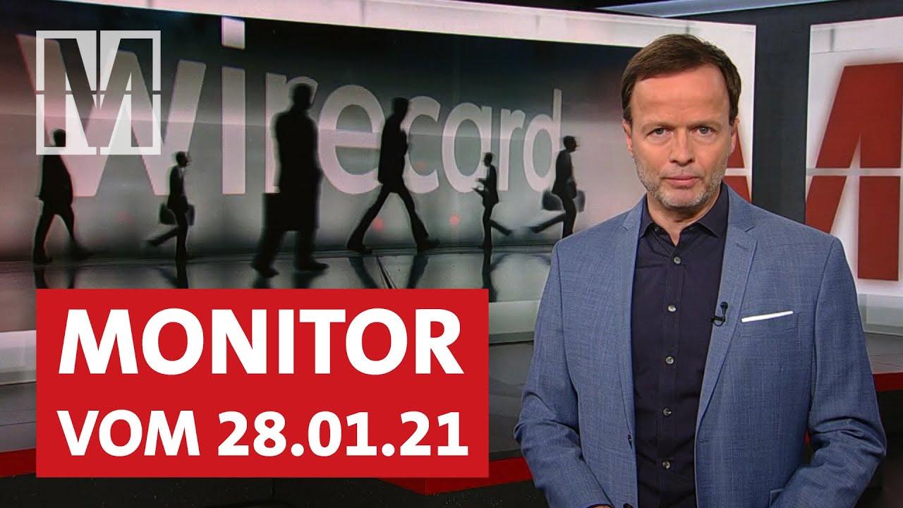 Hanau-Anschlag, Homeoffice, Wirecard: MONITOR vom 28.01.2021 mit Georg Restle