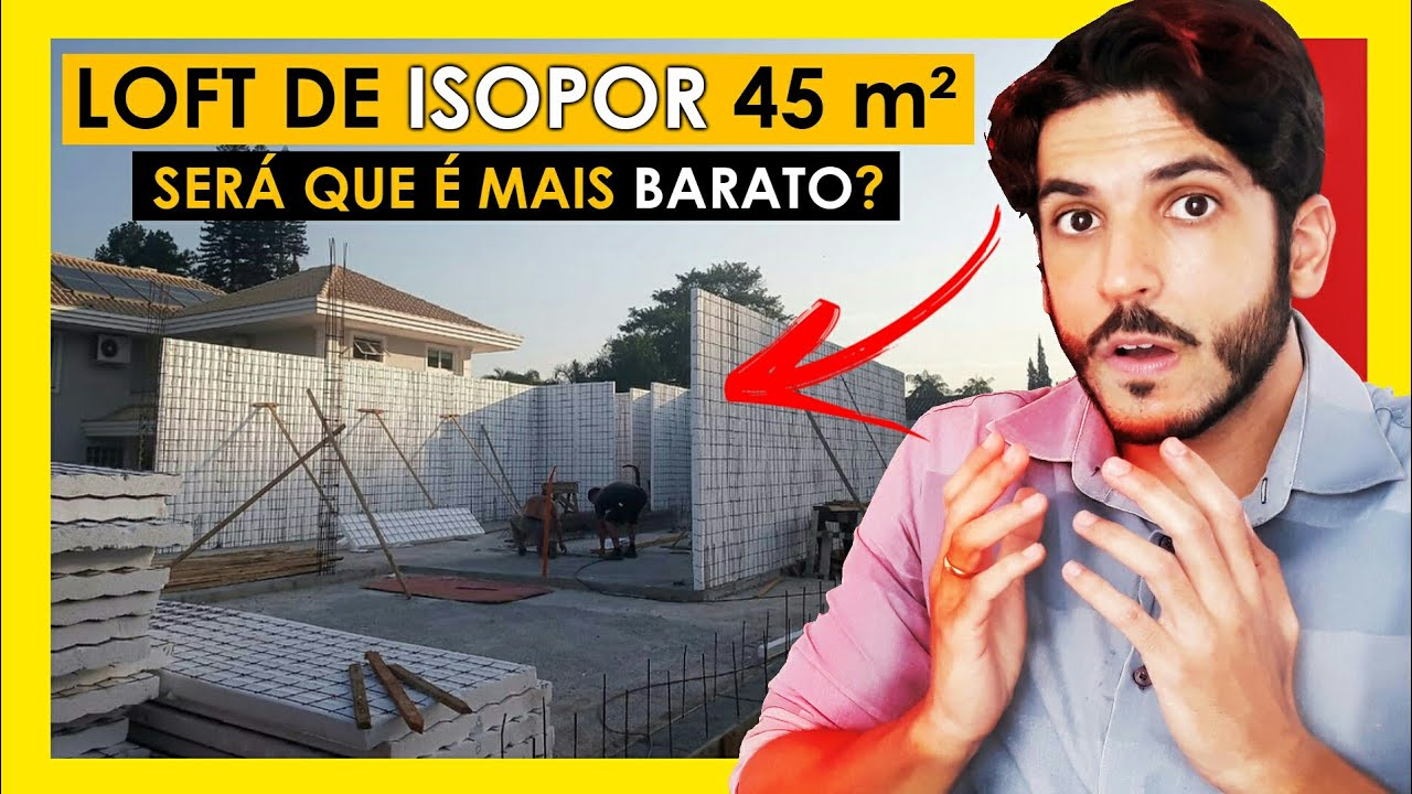 CASA DE ISOPOR 45 M² - QUANTO CUSTA  ?