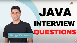 Java Interview Questions and Answers : A guide for experienced