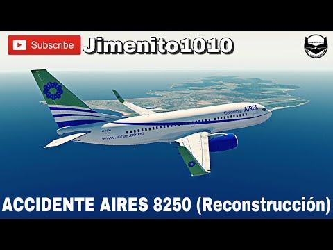 ACCIDENTE AIRES 8250 🌌 (Reconstrucción) Fenómeno Agujero Negro