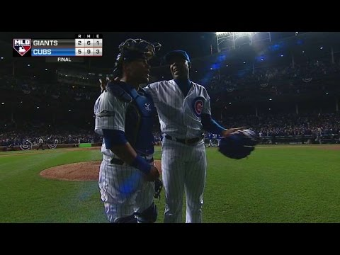 SF@CHC Gm2: Chapman earns save, Cubs take 2-0 lead