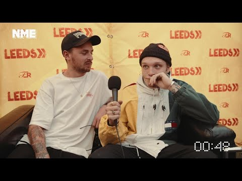 90-second interview: Neck Deep at Reading & Leeds Festival 2017