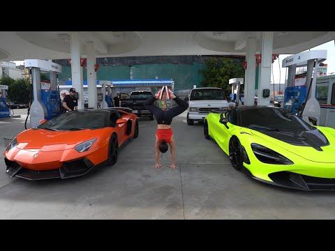 Mclaren 720S Vs Lamborghini Aventador, 570S Makeover With A Wing & Springs. RIP MAMBA
