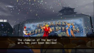 Capcom vs. SNK 2: Mark of the Millennium 2001 - Ken/Sakura/Chun-Li - Arcade Mode Playthrough