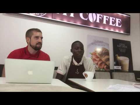 Traning barista in Lagos, Nigeria, coffee house MY COFFEE, 7