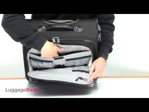 Travelpro Crew 10 Rolling Tote 4071413 Youtube