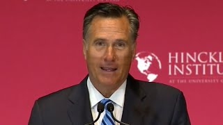 Mitt Romney: Trump 'A con man, a fake' [FULL SPEECH]