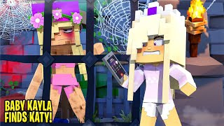 BABY KAYLA SNITCHES on HER MOM TO THE POLICE... Minecraft