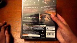Gears of War Triple Pack Unboxing