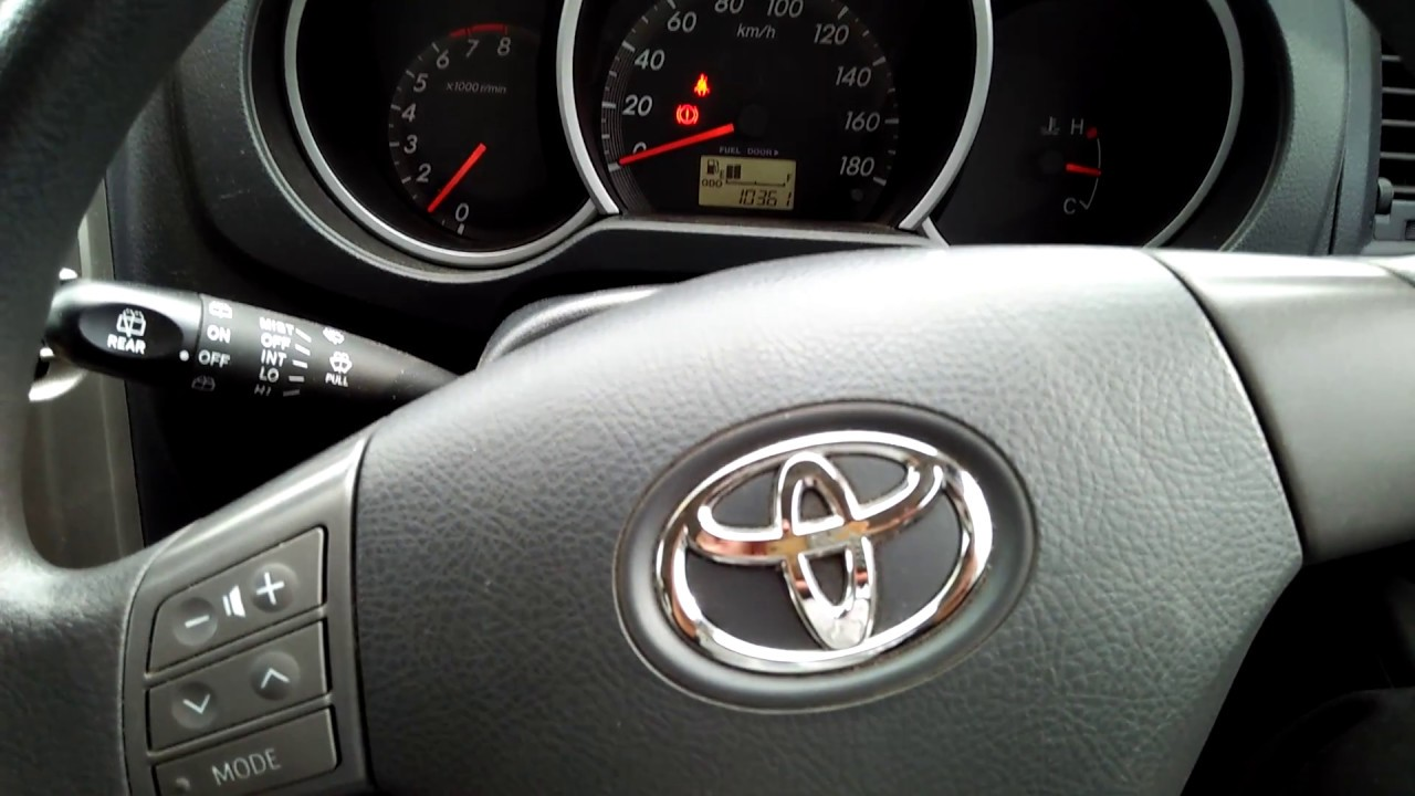 Letak Tuas Pembuka Tutup Tangki Toyota Rush