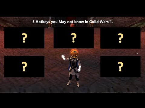 5 Guild Wars Hotkeys You May Not Be Using