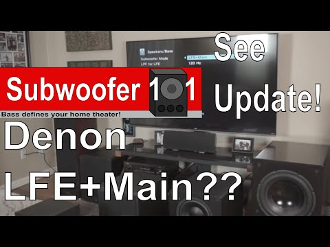 Denon LFE + Main: Let The Controversy Begin