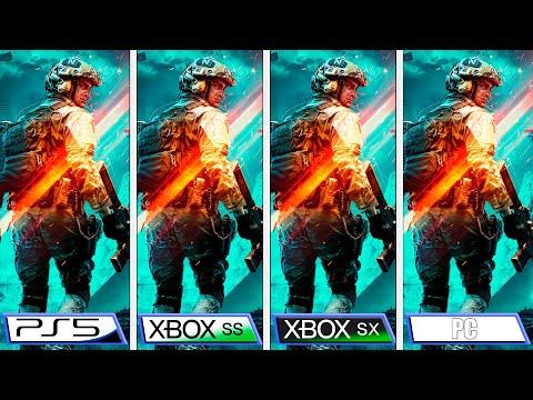 Сравнение графики в Battlefield 2042 на Xbox Series X | S и Playstation 5
