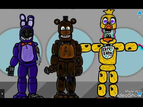 withered chica front download draw cartoons 2