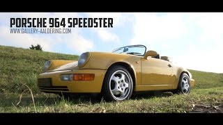 PORSCHE 964 SPEEDSTER - 1993 | GALLERY AALDERING TV