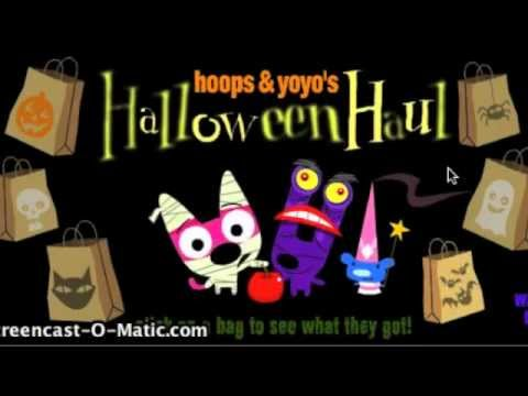 Hoops & Yoyo Halloween Haul E-Card