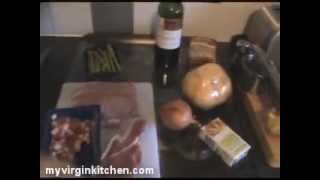 Bacon Wrapped Turkey With Swede Mash, Onion Relish & Asparagus - Myvirginkitchen