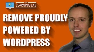 """Remove """"Proudly powered by WordPress"""" from the footer 