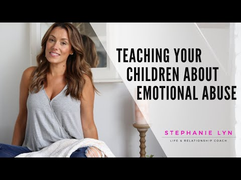 Teach your KIDS about Emotional Abuse | Stephanie Lyn Coaching