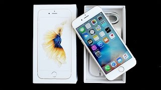 Apple iPhone 6s : Déballage et premier démarrage (Unboxing français)