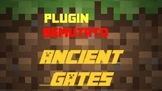 Minecraft plugin bemutató Ancient Gates [HUN] 1.7.2