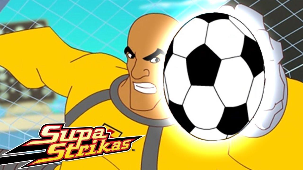 Supa Strikas | Repetir! Vai Grande Bo | Animados de FUTEBOL em Português!