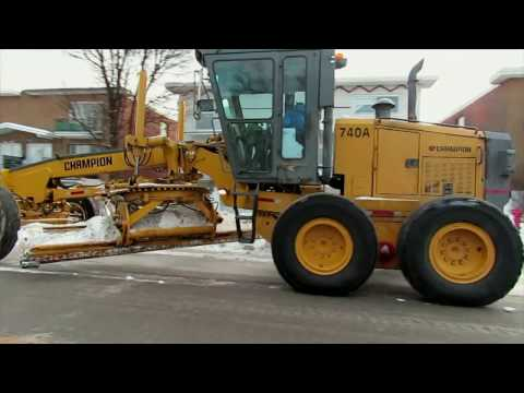 Montreal Residential Streets Snow Plowing Important Details