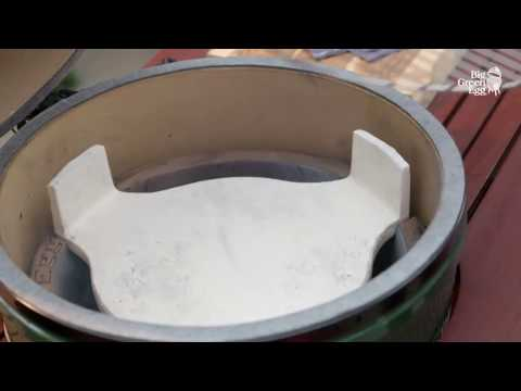 Big Green Egg Instructions   Cooking with indirect heat
