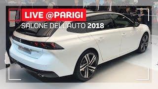 Peugeot 508 SW, l'ammiraglia con un aspetto famigliare   Salone di Parigi 2018