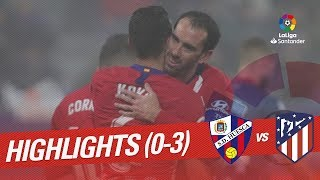 Highlights SD Huesca vs Atletico de Madrid (0-3)