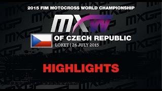 WMX Round of Czech Republic Race 1 Highlights - 2015