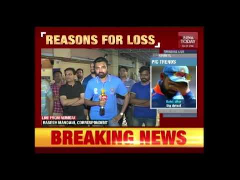 Reasons Why India Lost In Champions Trophy Finale