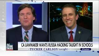 [ Tucker Porn ] Classroom lessons on Russian hacking and 2016 election