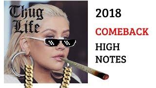 Christina Aguilera - 2018 Baku Live Vocal Highlight (Eb3-E5-Bb5)