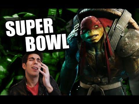 Vídeo Reacción: Tortugas Ninja 2 (Super Bowl)