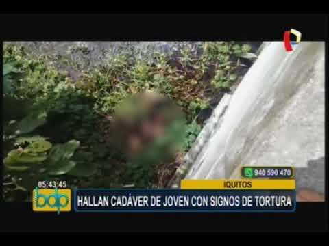 Iquitos: ubican cuerpo de adolescente que habría sido violada y quemada