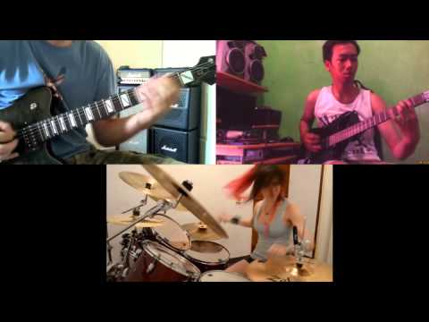 Lamb Of God - Laid To Rest Cover By Ntiffkuya Ft All Musician