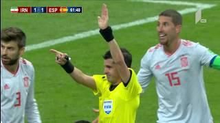 ირანი 0:1 ესპანეთი - მატჩის საუკეთესო მომენტები